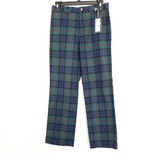 NWT Vineyard Vines Boys Size 14 Plaid Pants